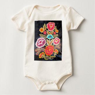 Mexikanischer Stickereientwurf Baby Strampler