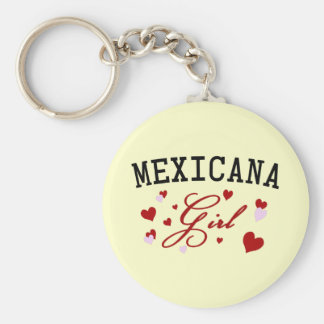 Mexikanisches Mädchen Schlüsselanhänger
