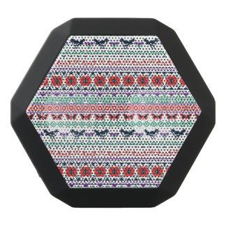 Mexikanisches Muster Frida Kahlos | Schwarze Bluetooth Lautsprecher