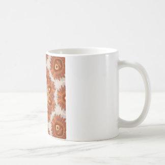 Mexikanisches Solenoid-Kaleidoskop-Medaillon Kaffeetasse
