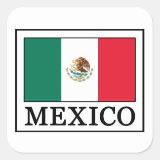 Mexiko-Aufkleber Quadratischer Aufkleber