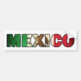 Mexiko-Autoaufkleber Autoaufkleber