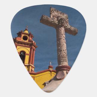 Mexiko, Bernal. Ansicht von Iglesia De San Plektron