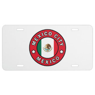 Mexiko City Mexiko US Nummernschild
