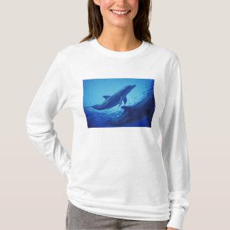 Mexiko, Cozumel. Bottlenosed Delphin, Tursiops T-Shirt