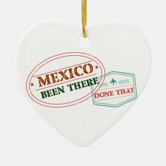 Mexiko dort getan dem keramik Herz-Ornament