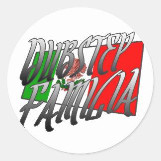 Mexiko Dubstep Familia camiseta MX DUBSTEP Aufkleber