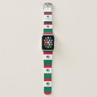 Mexiko-Flagge Apple Watch Armband