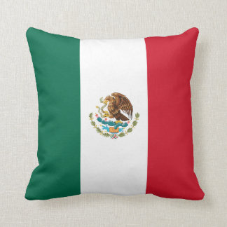 Mexiko-Flagge Kissen