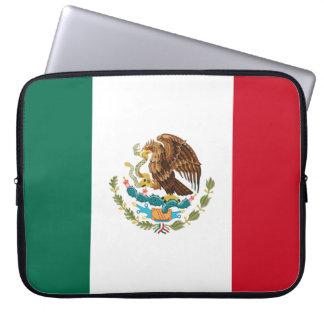 Mexiko-Flagge Laptopschutzhülle