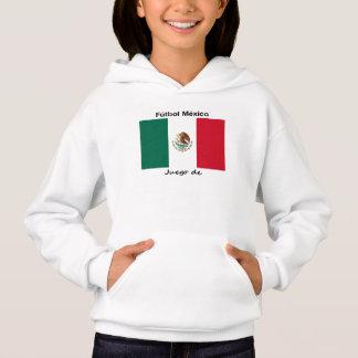 Mexiko-Fußball Hoodie