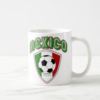 MEXIKO-FUSSBALL-SCHALE KAFFEETASSE
