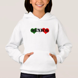 Mexiko-Herz Hoodie
