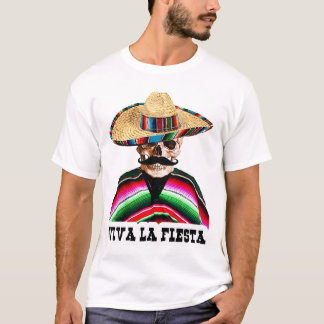 Mexiko, Mexikaner, viva Lafiesta T-Shirt