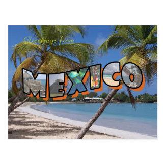 Mexiko-Postkarten-Retro Art Postkarte