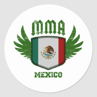 Mexiko Runder Aufkleber