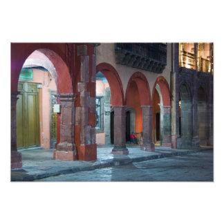 Mexiko, San Miguel de Allende, das Jardin, Kunst Fotos