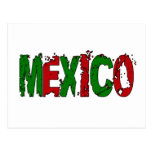 MEXIKO - SCHMUTZ-ART POSTKARTE