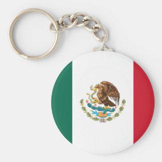 Mexiko Standard Runder Schlüsselanhänger