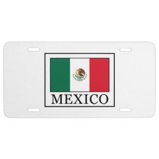 Mexiko US Nummernschild
