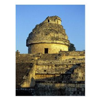 Mexiko, Yucatan. Caracol: astronomisch Postkarte