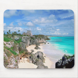 Mexiko, Yucatan, Halbinsel, Ruinen von Tulum, Maya Mousepad