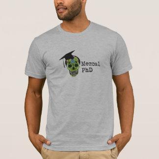 Mezcal PhD amerikanischer KleiderT - Shirt - Grau