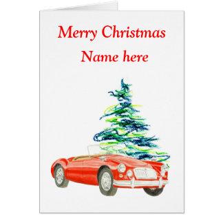 MGA Weihnachtskarte, kundengerecht Karte