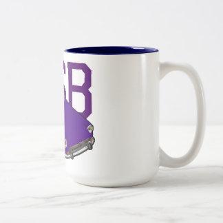 MGB lila Zweifarbige Tasse