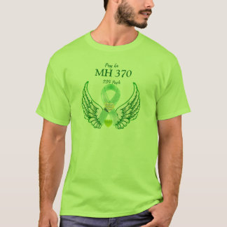 MH370-Praying u. Hoping_ T-Shirt