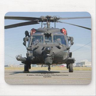 MH-60M schwarzer Mauspads