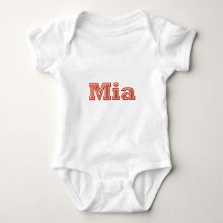 MIA   Mädchen-Namen-Text T Shirts