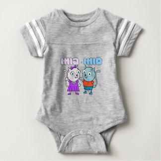 Mia und genießbare Mioeinzelteile Baby Strampler