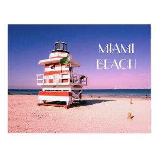 Miami Beach #01 Postkarte