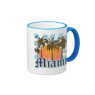 Miami Beach Florida FLA Tassen