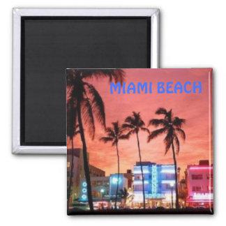 Miami Beach, Florida Kühlschrankmagnet