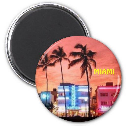 Miami Beach, Florida-Magnet Magnete