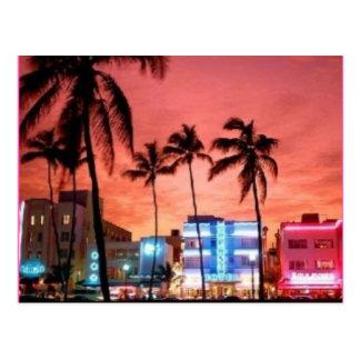 Miami Beach, Florida Postkarten