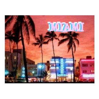 Miami Beach, Florida Postkarte