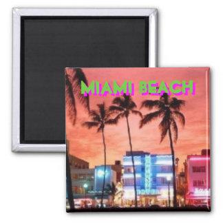 Miami Beach, Florida Quadratischer Magnet