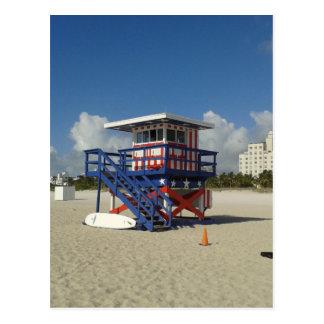 Miami Beach-Leibwächter-Ozean-Patrouille #02 Postkarte