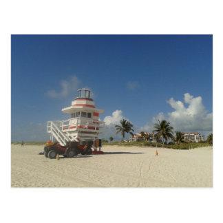 Miami Beach-Leibwächter-Ozean-Patrouille #03 Postkarte