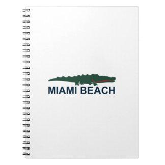 Miami Beach. Notizblock