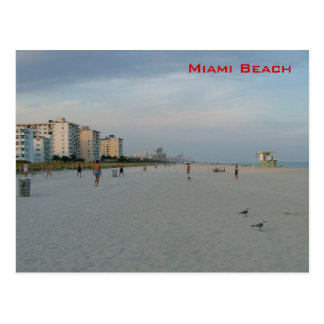 Miami Beach Postkarte