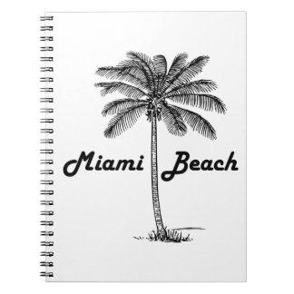 Miami Beach Spiral Notizblock