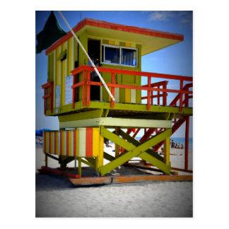 Miami-Bretterbude Postkarte