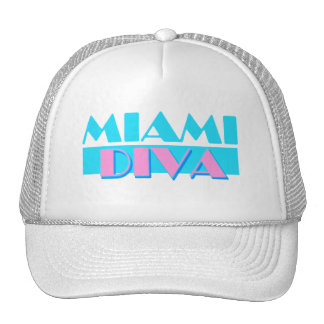 """Miami-Diva-"" Hut Retrokultmütze"