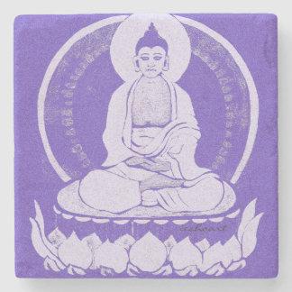 Miami-Filter-Buddha-Untersetzer Steinuntersetzer