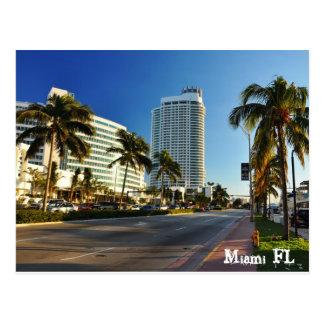 Miami FL Postkarte