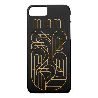 Miami-Flamingo-Gold iPhone 8/7 Hülle